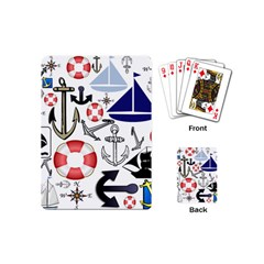 Nautical Collage Playing Cards (Mini)