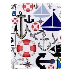 Nautical Collage Apple iPad 3/4 Hardshell Case