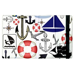 Nautical Collage Apple iPad 3/4 Flip Case