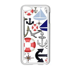 Nautical Collage Apple Ipod Touch 5 Case (white)