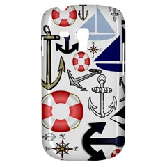 Nautical Collage Samsung Galaxy S3 Mini I8190 Hardshell Case