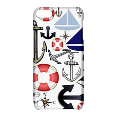 Nautical Collage Apple iPod Touch 5 Hardshell Case with Stand