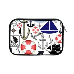 Nautical Collage Apple iPad Mini Zippered Sleeve