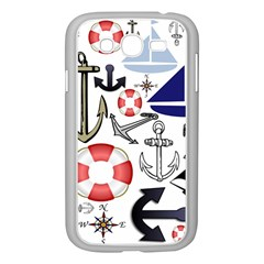 Nautical Collage Samsung Galaxy Grand DUOS I9082 Case (White)