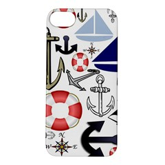 Nautical Collage Apple Iphone 5s Hardshell Case