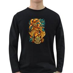 Queen Ocean Men s Long Sleeve T Shirt (dark Colored)