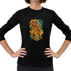 Queen Ocean Women s Long Sleeve T-shirt (Dark Colored)