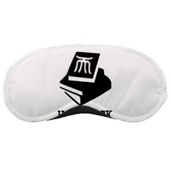 Hardback Knowledge Logo 1 Sleeping Mask