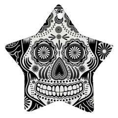 Sugar Skull Star Ornament