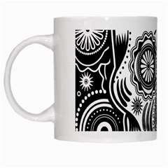 Sugar Skull White Coffee Mug