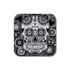 Sugar Skull Drink Coasters 4 Pack (square)