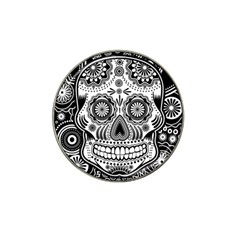 Sugar Skull Golf Ball Marker 10 Pack (for Hat Clip)