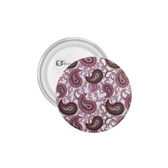Paisley in Pink 1.75  Button
