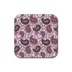 Paisley in Pink Drink Coaster (Square)