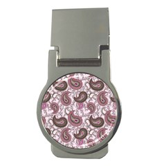Paisley in Pink Money Clip (Round)