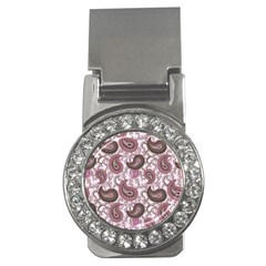 Paisley in Pink Money Clip (CZ)