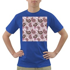 Paisley in Pink Men s T-shirt (Colored)
