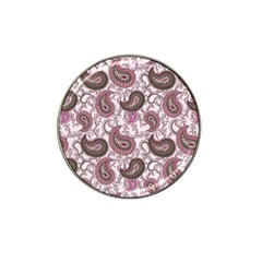 Paisley in Pink Golf Ball Marker 4 Pack (for Hat Clip)