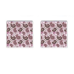 Paisley in Pink Cufflinks (Square)