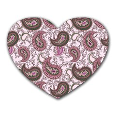 Paisley in Pink Mouse Pad (Heart)