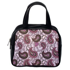 Paisley in Pink Classic Handbag (One Side)