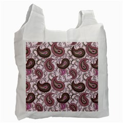 Paisley in Pink Recycle Bag (Two Sides)