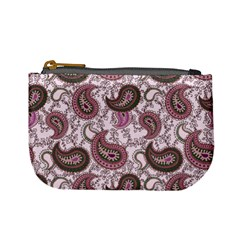 Paisley In Pink Coin Change Purse