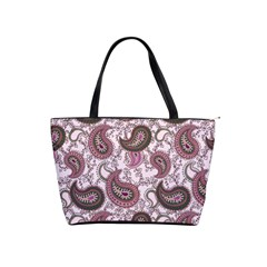 Paisley in Pink Large Shoulder Bag
