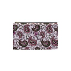 Paisley in Pink Cosmetic Bag (Small)