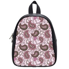 Paisley in Pink School Bag (Small)