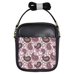 Paisley in Pink Girl s Sling Bag