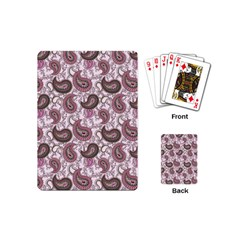 Paisley in Pink Playing Cards (Mini)