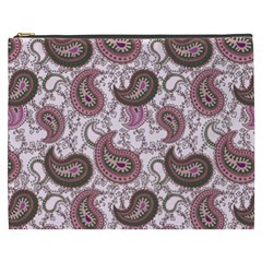 Paisley In Pink Cosmetic Bag (xxxl)