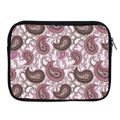 Paisley In Pink Apple Ipad Zippered Sleeve