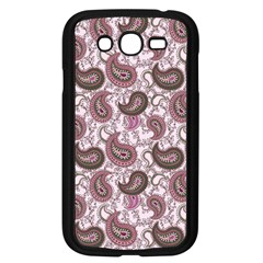 Paisley In Pink Samsung Galaxy Grand Duos I9082 Case (black)