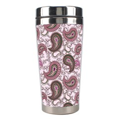 Paisley in Pink Stainless Steel Travel Tumbler