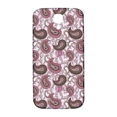Paisley In Pink Samsung Galaxy S4 I9500/i9505  Hardshell Back Case