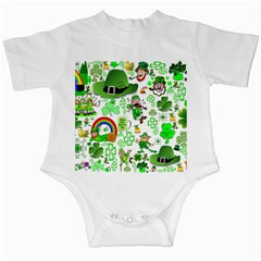 St Patrick s Day Collage Infant Bodysuit