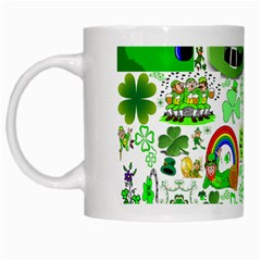 St Patrick s Day Collage White Coffee Mug