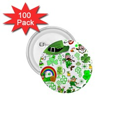 St Patrick s Day Collage 1.75  Button (100 pack)