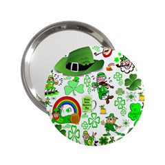 St Patrick s Day Collage Handbag Mirror (2.25 )