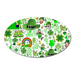 St Patrick s Day Collage Magnet (Oval)