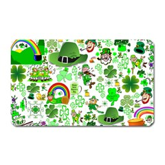 St Patrick s Day Collage Magnet (Rectangular)