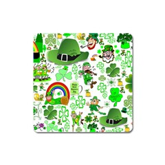 St Patrick s Day Collage Magnet (Square)