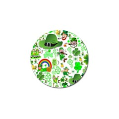 St Patrick s Day Collage Golf Ball Marker