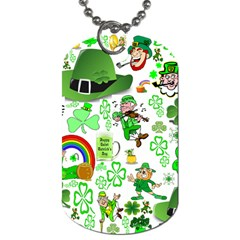 St Patrick s Day Collage Dog Tag (two Sided)