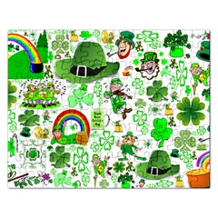 St Patrick s Day Collage Jigsaw Puzzle (Rectangle)