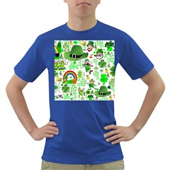 St Patrick s Day Collage Men s T-shirt (Colored)