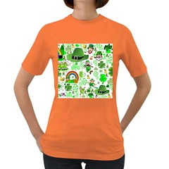 St Patrick s Day Collage Women s T-shirt (Colored)