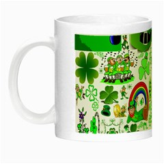 St Patrick s Day Collage Glow in the Dark Mug